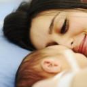 pendant l'accouchement