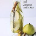 detox water poire, canelle, vanille