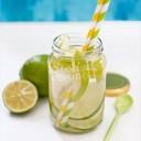 detox water pomme granny citron vert