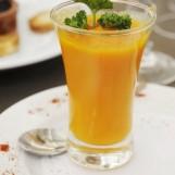 Petites verrines de carottes épicées