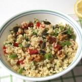 Salade de blé aux 3 herbes