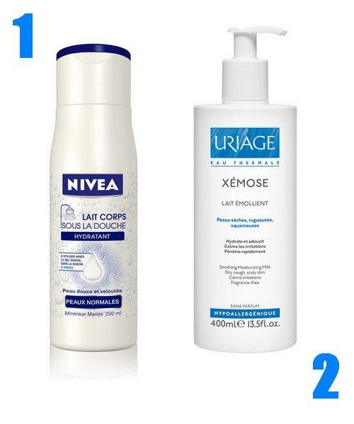 Lait corps sous la douche hydratant nivea diaporama beaut doctissimo - Lait corps sous la douche ...