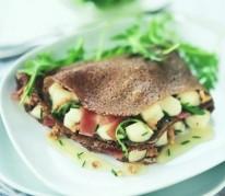 galette-de-ble-noir-au-pelardon-noix-et-jambon