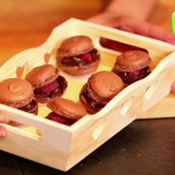 Macarons choco-framboises