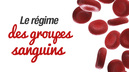 regime groupes sanguins