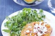 tatin-de-melon-au-thym-et-chevre-frais