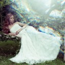robe de mariée bohème roxane par Elise Hameau
