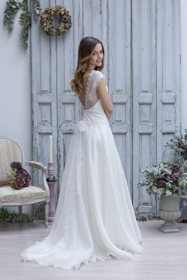 Robe de mariée boheme Theodora de Marie Laporte collection 2013 ...