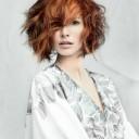 Coiffure cheveux courts automne-hiver 2015 @ Laetitia Guenaou pour L'Oréal Professionnel
