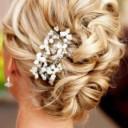 Barrette cheveux mariage