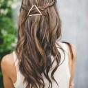 Barrette cheveux graphique