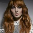 Coiffure cheveux longs ondulés automne-hiver 2015 @ Jacques Fourcade pour L'Oréal Professionnel