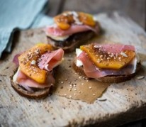 tartines-de-fromage-au-melon