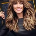 Coiffures cheveux longs ondulés automne-hiver 2015 @ Helena Bordon pour L'Oréal Professionnel
