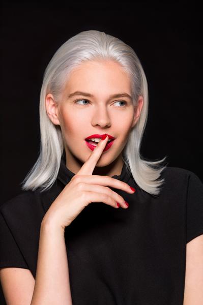 Coupe Cheveux Gris Femme Automne Hiver 2016 Faretra Paris Diaporama Beaut Doctissimo