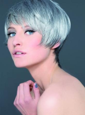 coupe de cheveux gris automne hiver 2016 biguine - Coloration Cheveux Gris Perle
