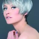 Coupe de cheveux gris
