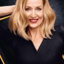 Carré plongeant blond automne-hiver 2015 @ Jerry Hall pour L'Oréal Professionnel