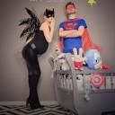 Annonce grossesse super héros