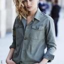 Coiffure pour cheveux mi-longs automne-hiver 2016 @ Jean-Louis David