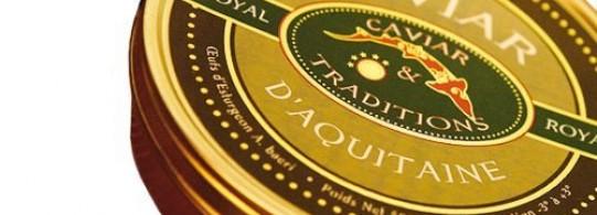 Recette caviar d'aquitaine