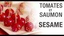 tomates et saumon