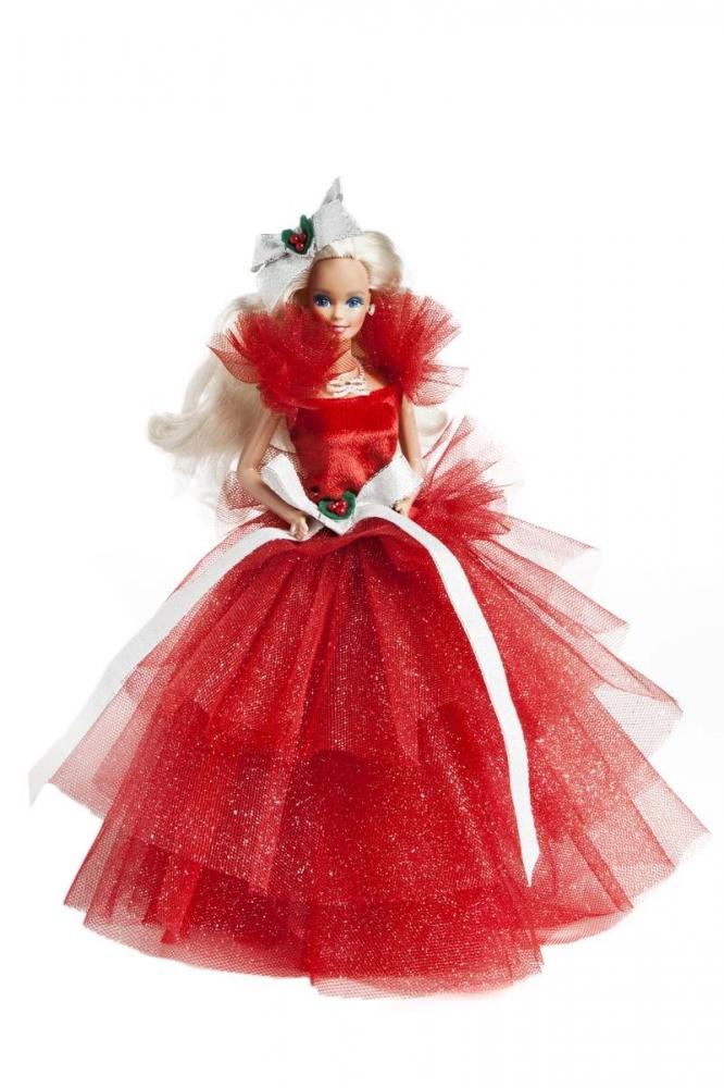 Barbie joyeux no l les 25 robes de barbie joyeux no l en images diaporama beaut doctissimo - Barbie de noel 2012 ...