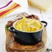 Rognons de veau grillés, gratin de macaronis au  Pur Brebis Pyrénées