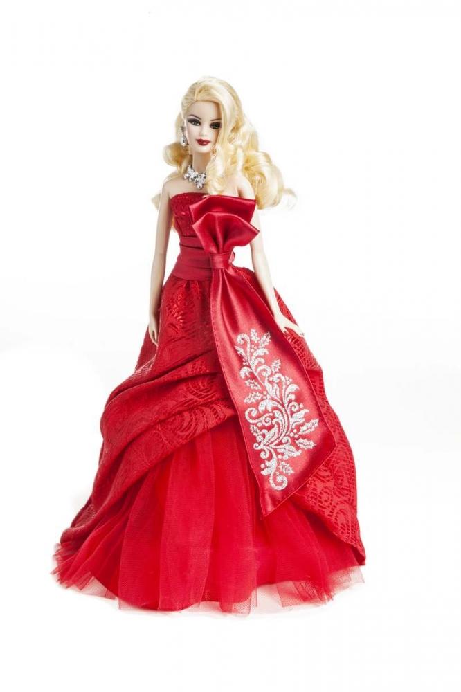 Barbie joyeux no l 2012 diaporama beaut doctissimo - Barbie de noel 2012 ...