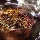 Crumble de prunes aux noix