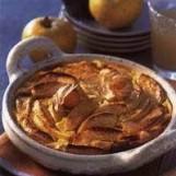 Flan aux pommes à la flamande