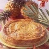 Galette fourrée a l ananas
