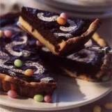 Tarte au chocolat fondant