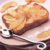 Brioche perdue aux pommes et au cidre