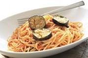 Spaghetti sauce tomate aux aubergines