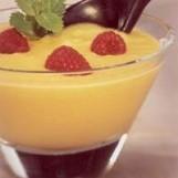 Soupe de melon à la menthe