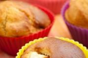 muffins-aux-peches-de-vigne-et-au-fromage-frais