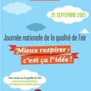 Journée nationale de la qualité de l'air
