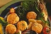 Croquettes de veau aux flocons d'avoine