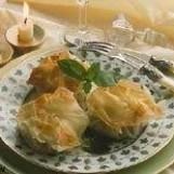 Croustillants d'agneau au jus de basilic