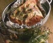 Epaule d'agneau à la vapeur sauce estragon
