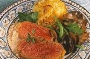 Faux-filet aux champignons et gratin dauphinois