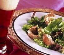 salade-aux-langoustines-et-poids-gourmands