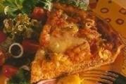 Tarte à la tomate et au boeuf