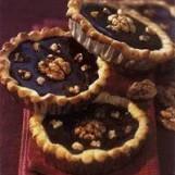 Tartelettes au chocolat et aux noix