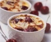 Petits pots de crème aux cerises
