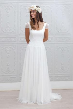 Robe mariage automne hiver 2015 marie laporte for Quoi porter sur une robe pour un mariage d hiver