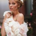 Modèle coiffure mariage automne-hiver 2015 @ Fanny Liautard