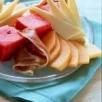 Assiette fraîcheur à la meule de caractère du pays basque