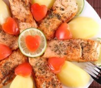 darne-saumon-four